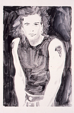 Hunks (1997) Monotype on paper