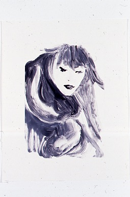 Fashion Portraits (1996) Monotype on paper