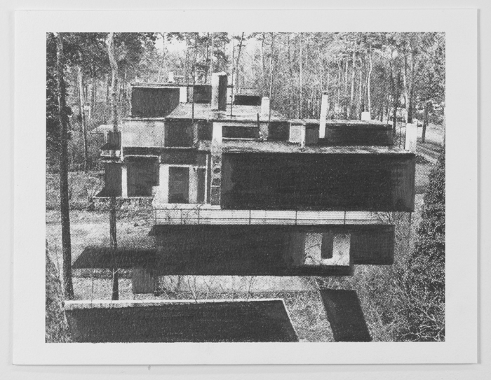 Drawings Gropius: Masters' House, Dessau #7