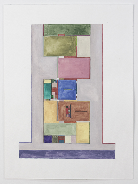 Floor Plans (2011 - Present) Johnson Floorplan: Neuberger Museum 2, Color Determind by Chance