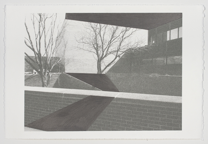 Drawings Barnes Series: Neuberger/ Visual Arts View #4