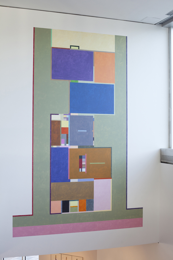 Floor Plans (2011 - Present) Johnson Floorplan: Neuberger Museum, Color Determined by Chance