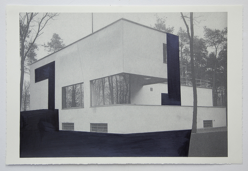 Drawings Gropius Series: Director's House, View #4