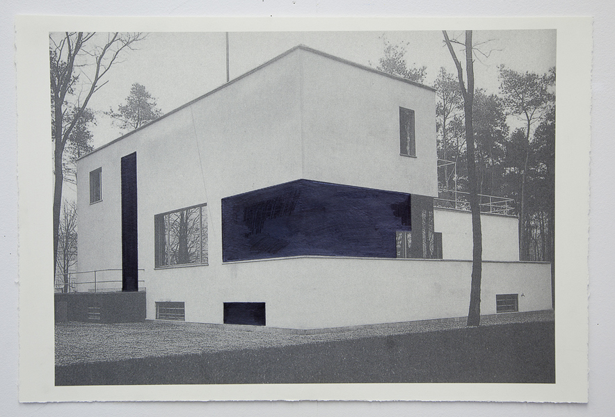 Drawings Gropius Series: Director's House, View #2