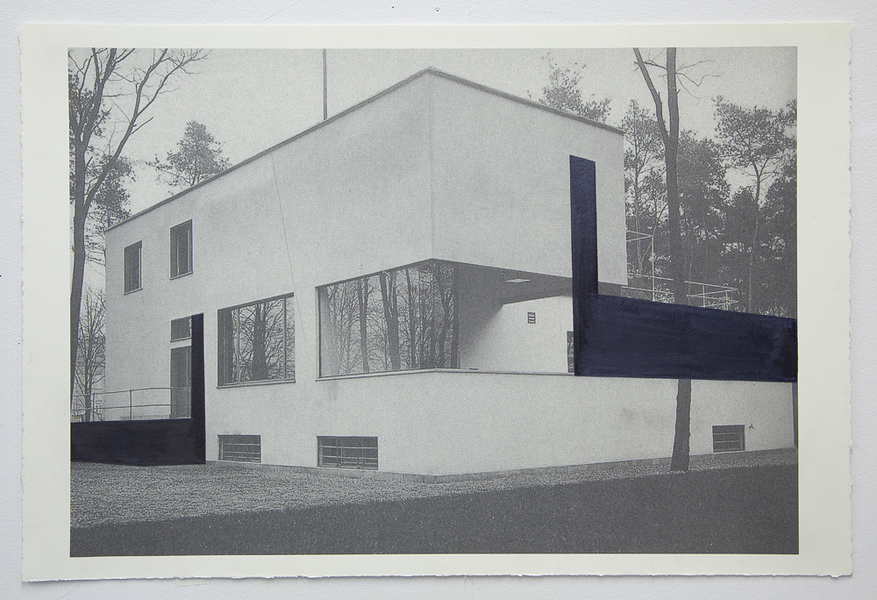 Drawings Gropius Series: Director's House, View #5