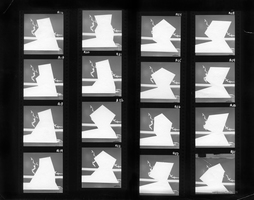 Julie Weber Undisclosed Typologies found gelatin silver contact print, partially removed emulsion