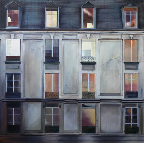 Julie Weaver City Views Oil on canvas