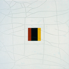 Kaare Rafoss Altered States, 1998 Acrylic on canvas mounted on board
