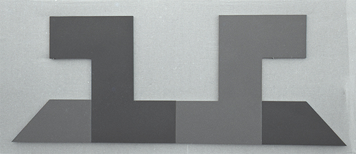 Kaare Rafoss Painted Constructions, 1969 - 1967 Acrylic on Wood