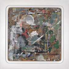 Kaare Rafoss Infidels Series #2, 1993-2012 Various paint on wood