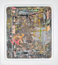 Kaare Rafoss Infidels Series #3, 1993-2012 Various paint on wood