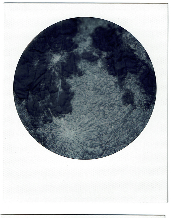 Moon Quilt Polaroid