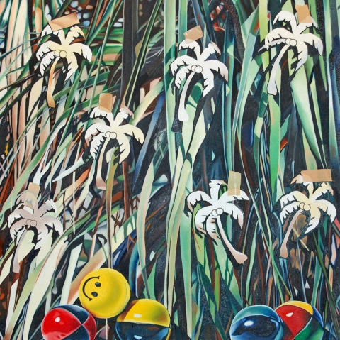 Paintings 2005-2008 oil on canvas