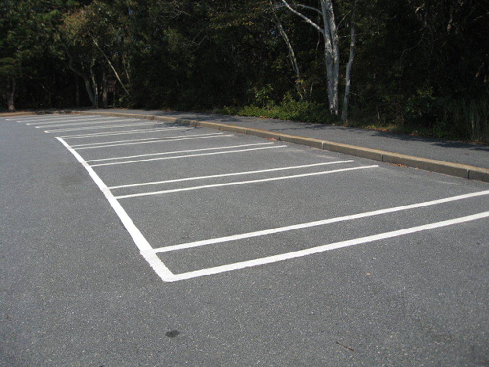 Parking Lot Interventions, Beech Forest Parking Lot,  Provincetown, 2010  Parking Lot Interventions, Beech Forest Parking Lot,  Provincetown, 2010