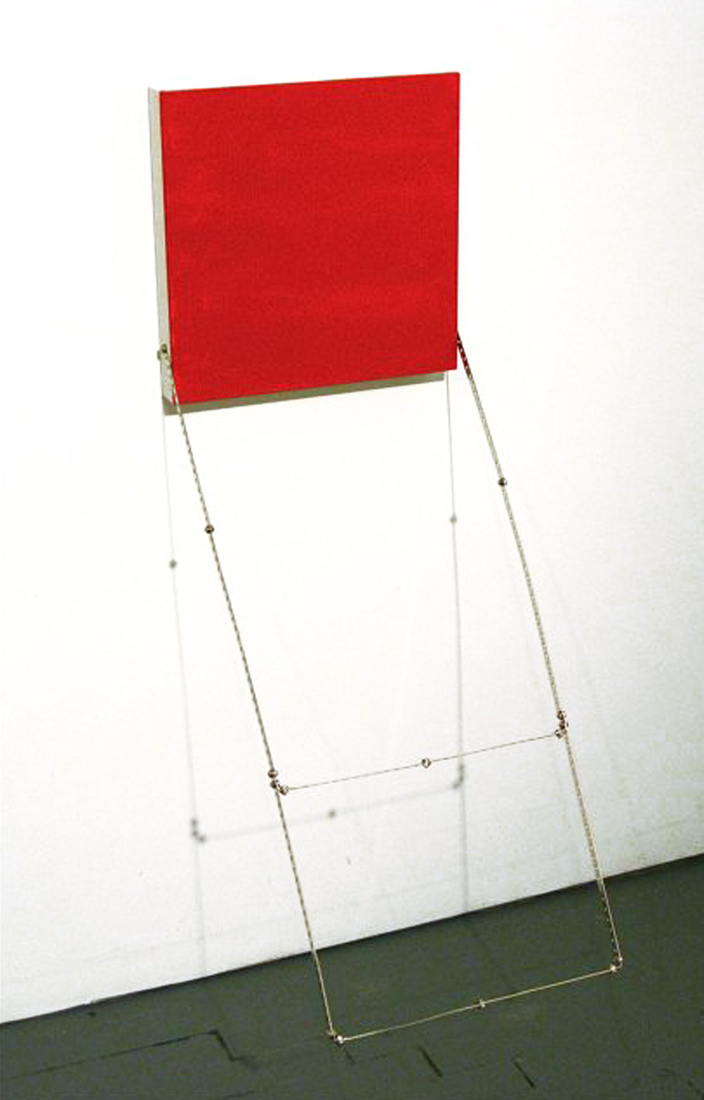 "Tape Installations and Other Assorted Works ""Fire Escape"""
