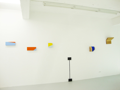 """The Weight"", Installation view, ""Manic Episode #3"", curated by Wahida Azari: ""The Weight"""