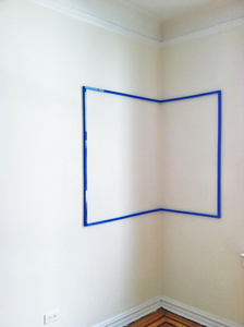"""Section #5"", Installation view, ""Dual Zone"""
