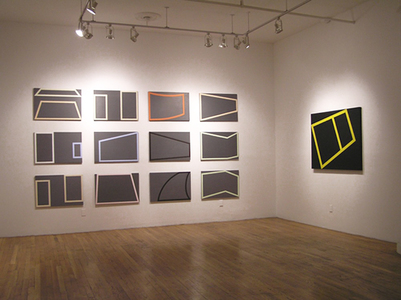 "Installation view, ""Karen Schifano:Out of Bounds"""