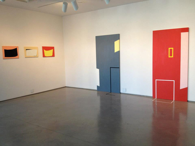 "Installation view, ""Boundary Hunters"""