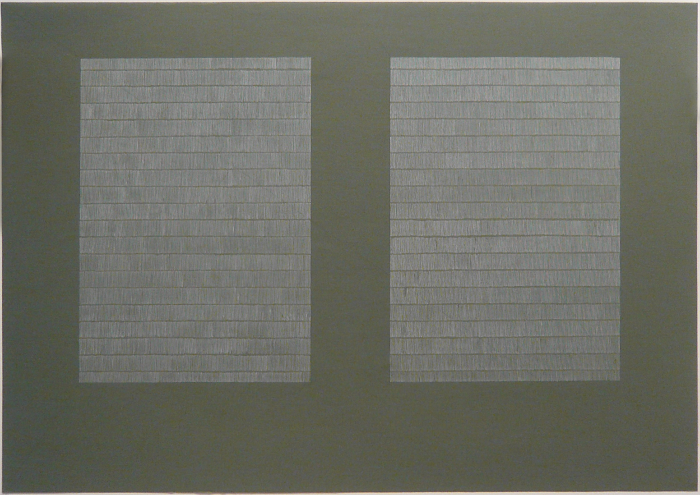 Laid Line Drawings, large (2007-08) Untitled (Illumination)
