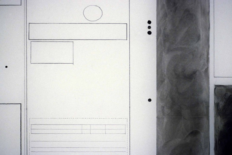Agnes Martin Obituary Project (2005-) Agnes Martin, Times of London, 2004, opening, I (detail)