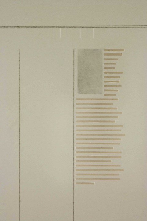 Agnes Martin Obituary Project (2005-) Agnes Martin, Time, 2005, I (detail)