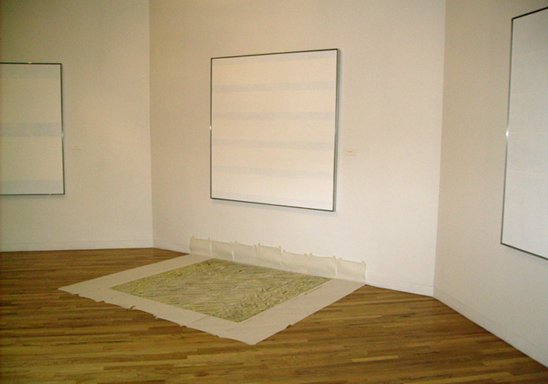 Un- Agnes Martin (2007) Un-Ordinary Happiness (in process)