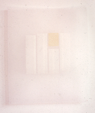 Agnes Martin Obituary Project (2005-) tape on vellum