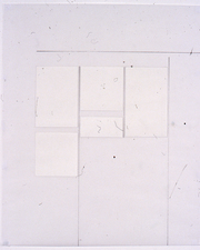 Agnes Martin Obituary Project (2005-) graphite and plastic paper on vellum