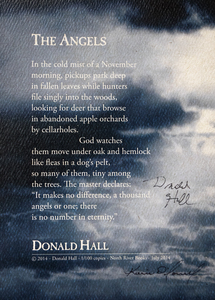 Karie O'Donnell Poetry Broadsides Donald Hall