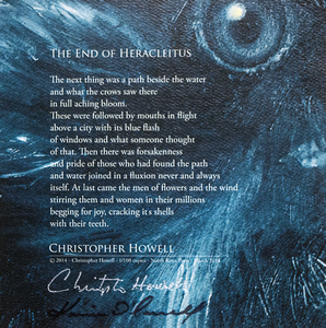 KARIE O'DONNELL Poetry Broadsides Christopher Howell