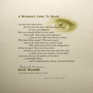 KARIE O'DONNELL Poetry Broadsides David Wagoner