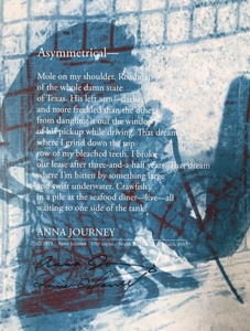 Karie O'Donnell Poetry Broadsides Anna Journey