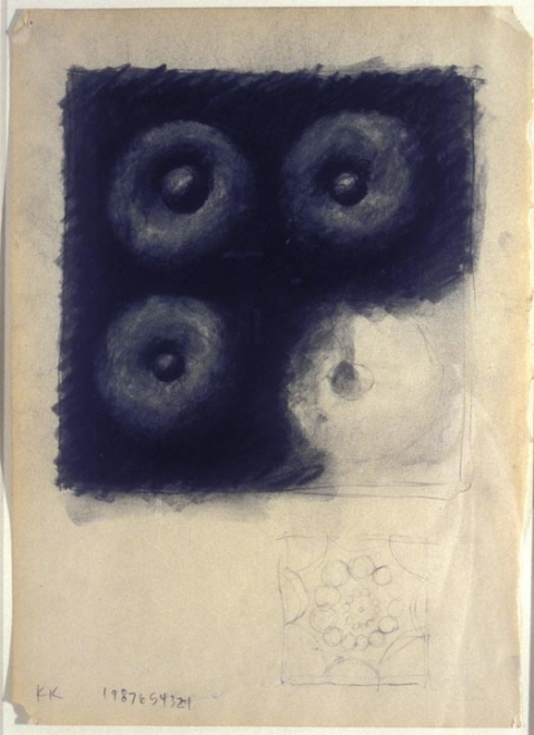 KARLA KNIGHT Drawings (1985-99) charcoal on paper