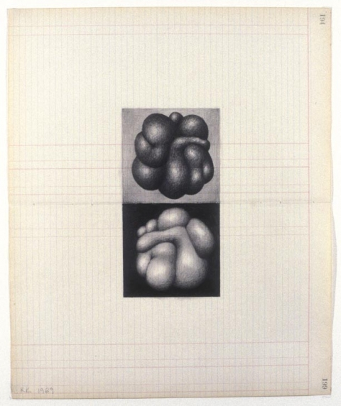 KARLA KNIGHT Drawings (1985-99) graphite on paper