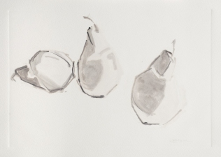 Kate Emlen Drawings and Monotypes Monotype