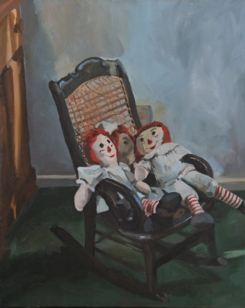 Recent Paintings Raggedy Ann & Friends I