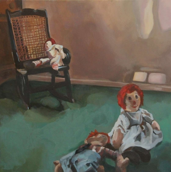 Recent Paintings Raggedy Ann & Friends II