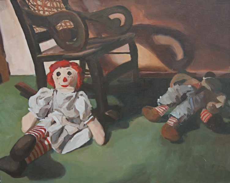 Recent Paintings Raggedy Ann & Friends III