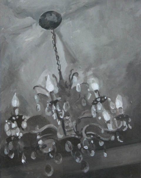 Recent Paintings Chandelier I