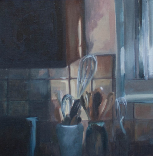 Recent Paintings Kitchen Still Life
