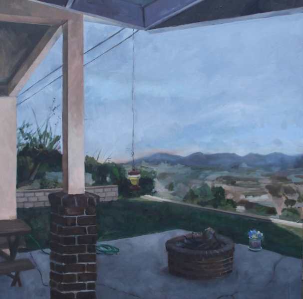 Recent Paintings Porch