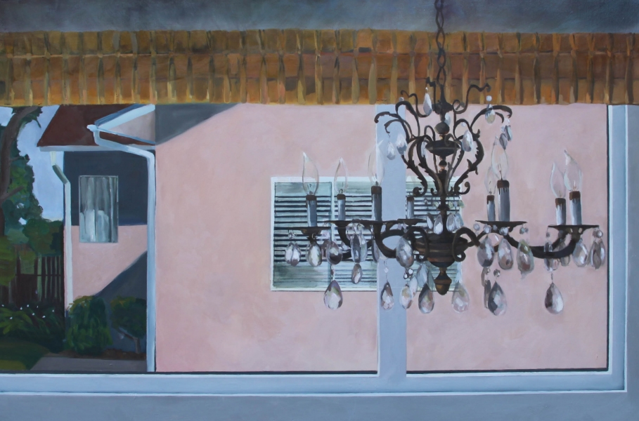 Recent Paintings Through the Window