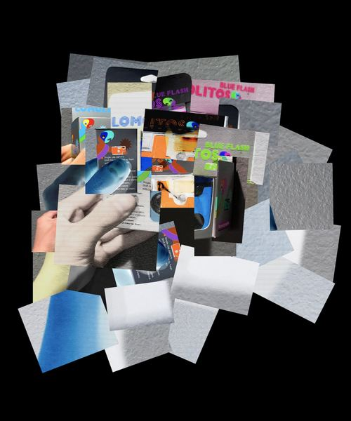 Digital Photomontage Inspired by David Hockney
