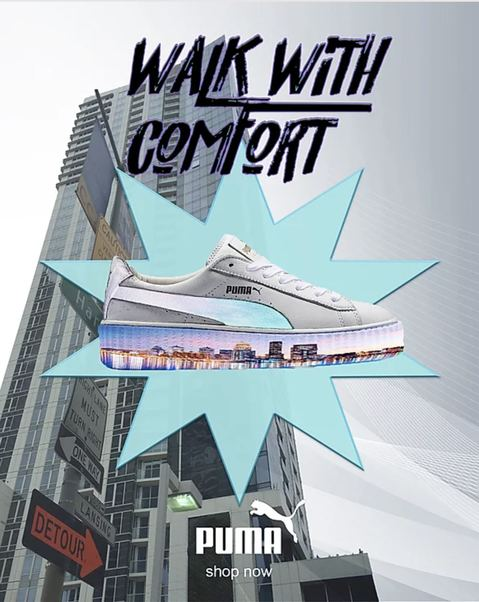 Digital Shoe Design / Ad Campaign