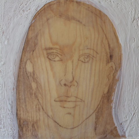 Kathleen A. Raymond Mixed Media w/Encaustic Mixed Media w/Encaustic On Wood