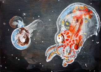Pteropod and Octopus