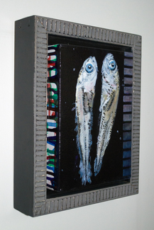 Fish Larvae 3 - Framed