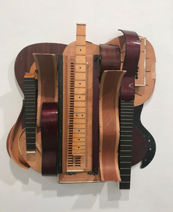 Kathleen Bennett Bastis Metal/Wood/Mixed Guitar and Harmonium Parts