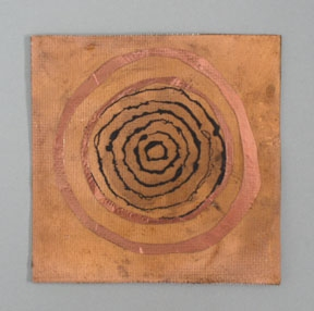Etheric Substance Copper, fiberglass, charcoal powder
